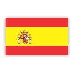 Spain Espa?a Flag Vinyl Die-Cut Decal / Sticker ** 4 Sizes **