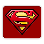 Superman Mouse Pad  9.25
