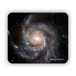 Spiral Galaxy M101 Mouse Pad 9.25