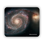 Spiral Galaxy M51 Mouse Pad 9.25