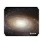 Spiral Galaxy M81 Mouse Pad 9.25