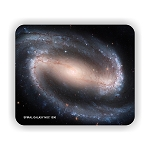 Spiral Galaxy NGC 1300 Mouse Pad 9.25