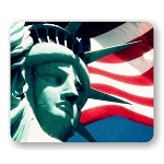 Statue of Liberty (A) Mouse Pad  9.25