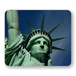 Statue of Liberty (B) Mouse Pad  9.25