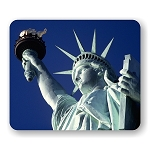 Statue of Liberty (C) Mouse Pad  9.25