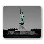 Statue of Liberty (D) Mouse Pad  9.25