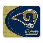 St Louis Rams Mouse Pad 9.25