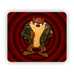 Taz in Leather Jacket Mouse Pad  9.25
