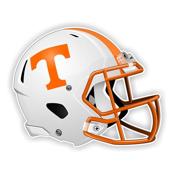 Tennessee Volunteers New Shape Helmet Vinyl Die Cut Decal