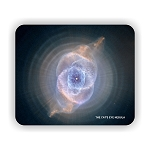 The Cat's Eye Nebula Mouse Pad 9.25