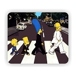 The Simpsons (A) Mouse Pad  9.25