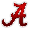 Alabama Crimson Tide A New Style Die-Cut Decal 12