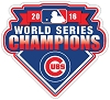 Chicago Cubs Championship Die-cut Vinyl Decal / Sticker ** 4 Sizes **