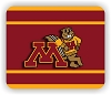 Minnesota Golden Gophers (Goldy)  Mouse Pad (A) 9.25