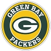 Green Bay Packers (B) Circle Vinyl Die-Cut Decal ** 4 Sizes **