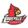 Louisville Cardinals Mascot and Letters 12