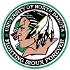 North Dakota Fighting Sioux (I) Vinyl Die-Cut Decal / Sticker ** 4 Sizes **
