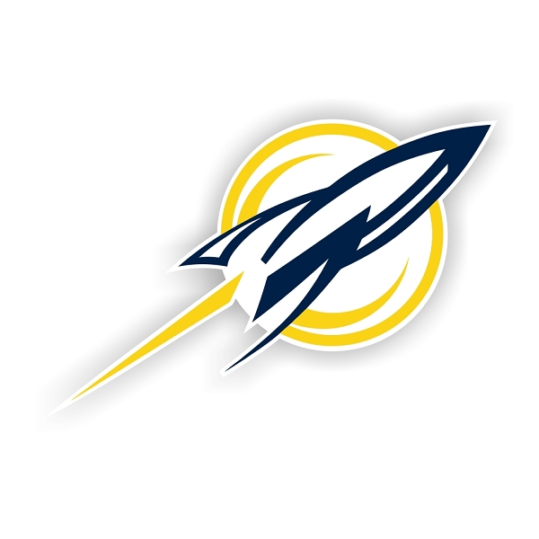 Toledo Rockets B Die Cut Decal 4 Sizes