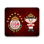Toluca Mexico Soccer Mouse Pad 9.25