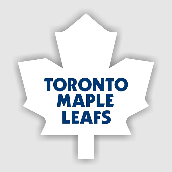 Toronto Maple Leafs B Vinyl Decal Sticker 4 Sizes