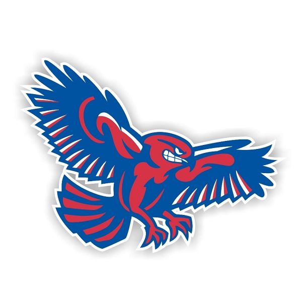 Umass Lowell River Hawks E Die Cut Decal 4 Sizes