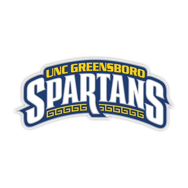 Uncg Greensboro Spartans B Die Cut Decal 4 Sizes