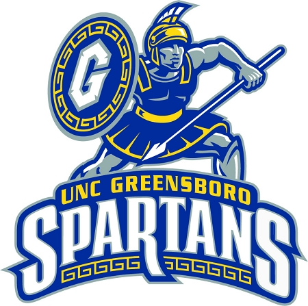 UNC Greensboro Vinyl Die-Cut Decal / Sticker * 4 Sizes