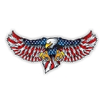 USA American Eagle (A) Die-Cut Decal ** 4 Sizes **