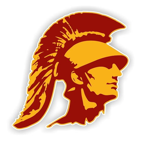 USC Trojans (C) Vinyl Die-Cut Decal / Sticker ** 4 Sizes
