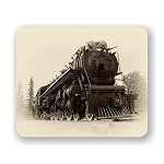 Vintage Steam Train Mouse Pad 9.25
