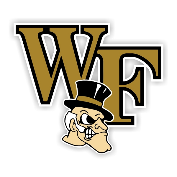 Wake Forest Demon Deacons A Vinyl Die Cut Decal