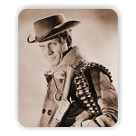 Wanted Dead or Alive Steve McQueen Photo Mouse Pad  9.25