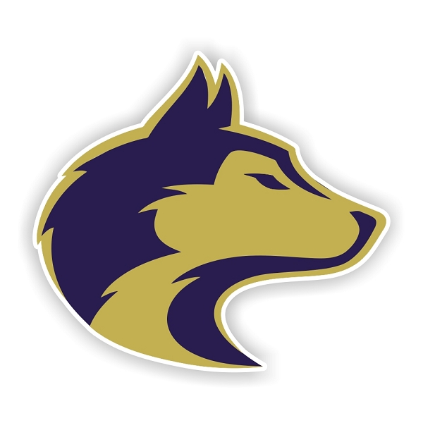 Washington Huskies B Vinyl Die Cut Decal Sticker 4