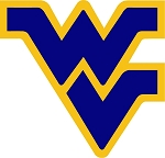 WVU West Virginia University Mountaineers (Yellow Outline) Vinyl Die-Cut Decal / Sticker ** 4 Sizes **