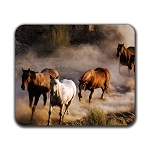 Wild Horses Mouse Pad 9.25