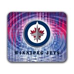 Winnipeg Jets Mouse Pad 9.25