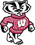 University of Wisconsin Badgers (Bucky) Die-cut Vinyl Decal / Sticker ** 4 Sizes **