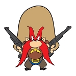 Yosemite Sam Vinyl Decal / Sticker ** 4 Sizes **