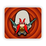Yosemite Sam Mouse Pad  9.25