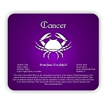 Zodiac Cancer  Mouse Pad  9.25