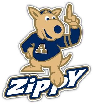 akron zippy mascot