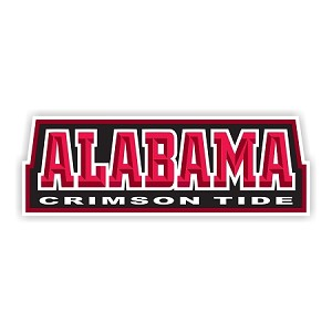 Alabama Crimson Tide (Letters) Die-Cut Decal ** 4 Sizes **