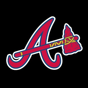 "Atlanta Braves Big ""A"" Die-cut Vinyl Decal / Sticker ** 4 Sizes **"