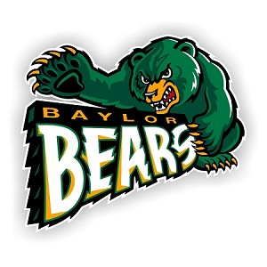 Baylor Bears (A) Vinyl Die-Cut Decal ** 4 Sizes **