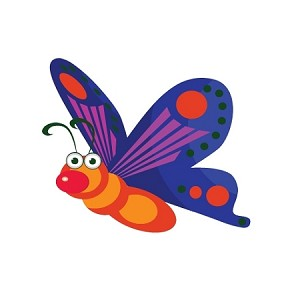Butterfly Truck Car Window Auto Decal ** 4 Sizes **