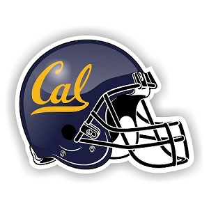 California Golden Bears Helmet Die-Cut Decal ** 4 Sizes **