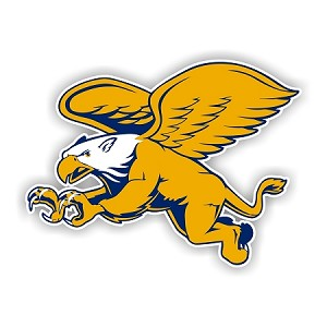 Canisius College Golden griffins Mascot Die-Cut Decal ** 4 Sizes **