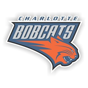 Charlotte Bobcats  Vinyl Decal / Sticker * 4 Sizes*