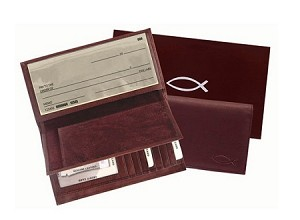 Checkbook Wallet w/ Removable Cover