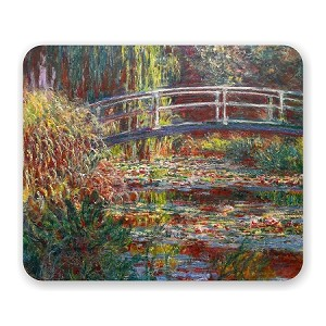 "Claude Monet ""The Water Lily Pond"" Mouse Pad 9.25"" X 7.75"""